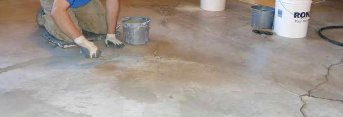 Level resurfacing a concrete floor restoreall concrete for Getting grease off concrete